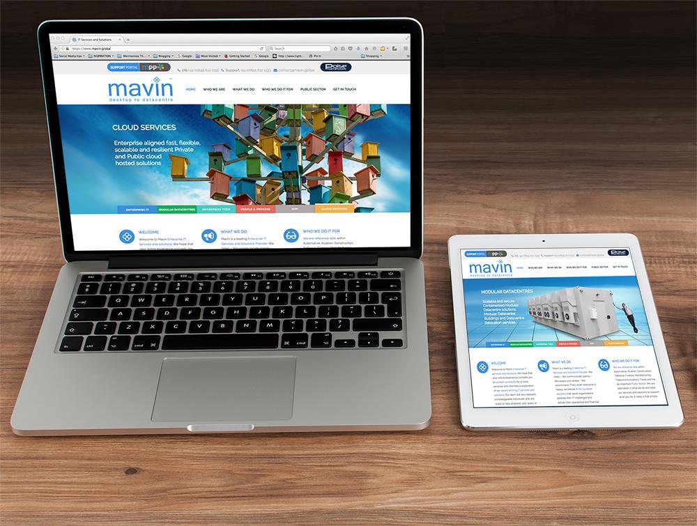 Mermonkey Portfolio: Mavin Global Website Design And Branding Project